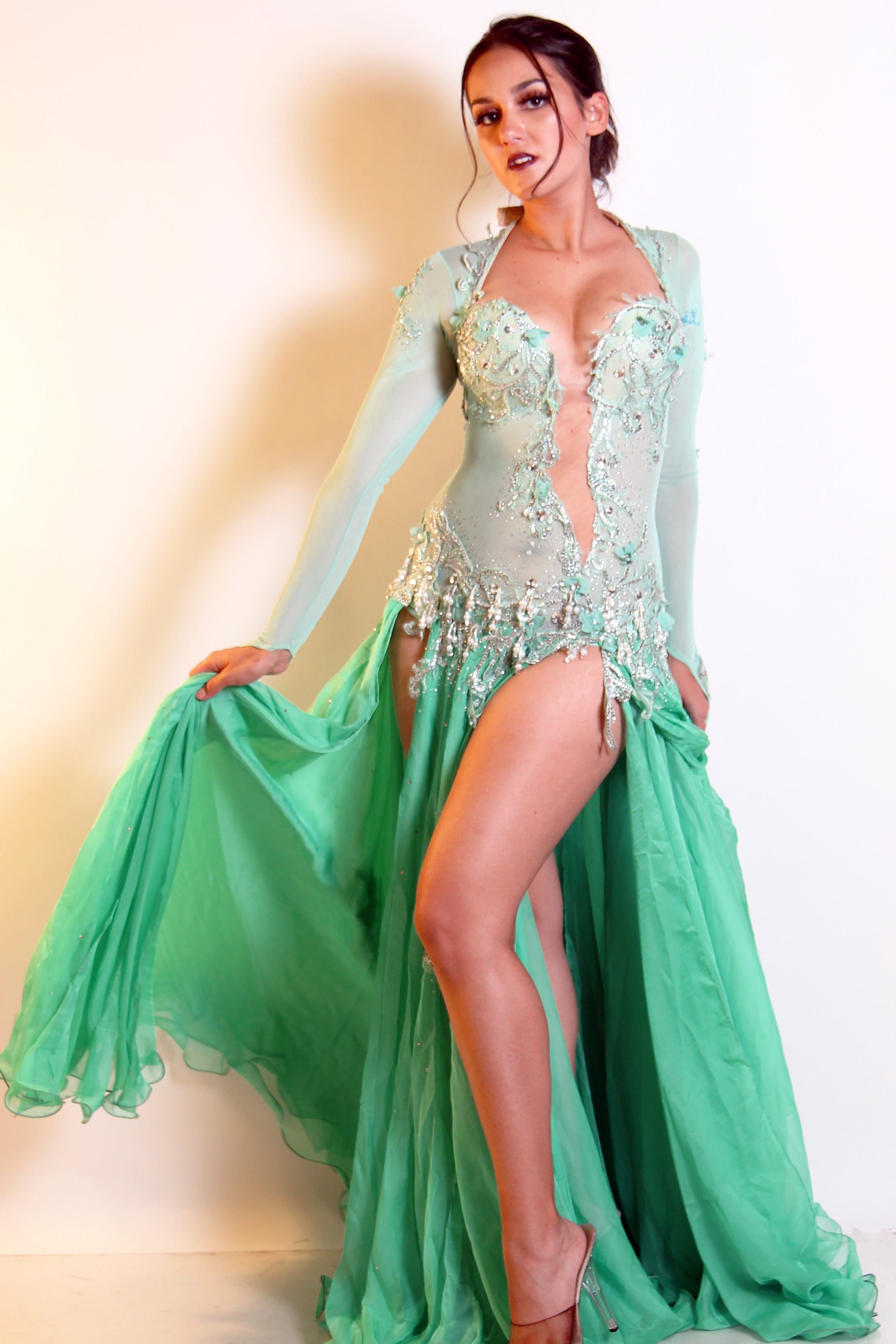 Eman Zaki One-Piece Costume 23817