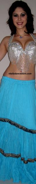 Tribal Blue Skirt