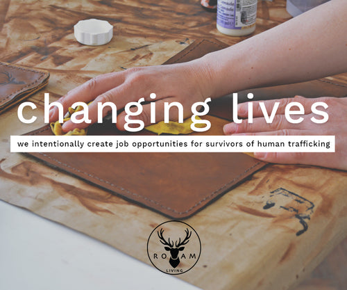 Sponsor a job with dignity for a survivor of human trafficking