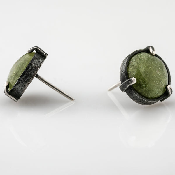"Silver earrings ""Coppice"""