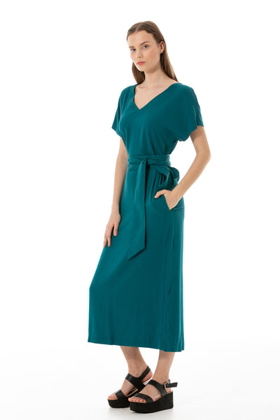 Dress of turquoise Lily