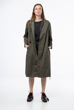 Load image into Gallery viewer, Trench coat in khaki