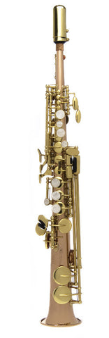 JP146 Sopranino Saxophone Eb 'Atom' with rose brass body