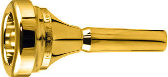 DW4286	Denis Wick Tuba Mouthpiece, Classic, Gold Plate