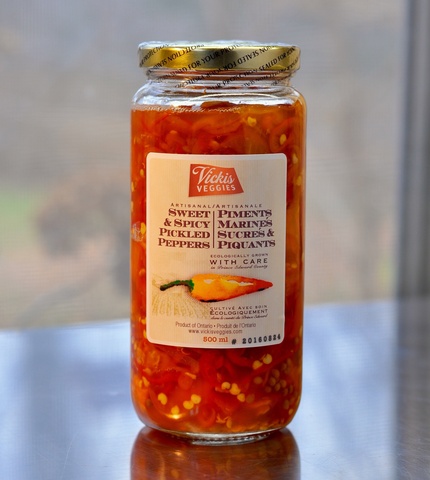 Sweet & Spicy Pickled Peppers