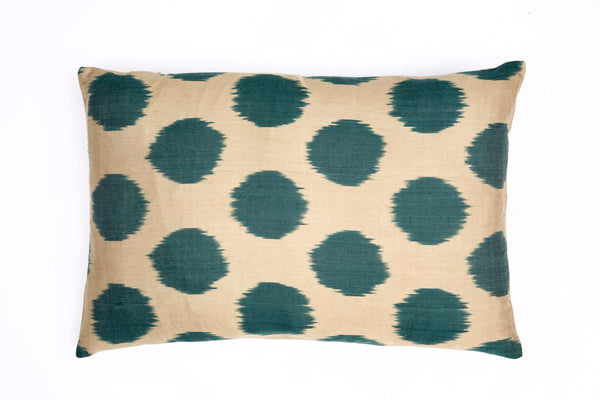 Poppy Silk Cushion