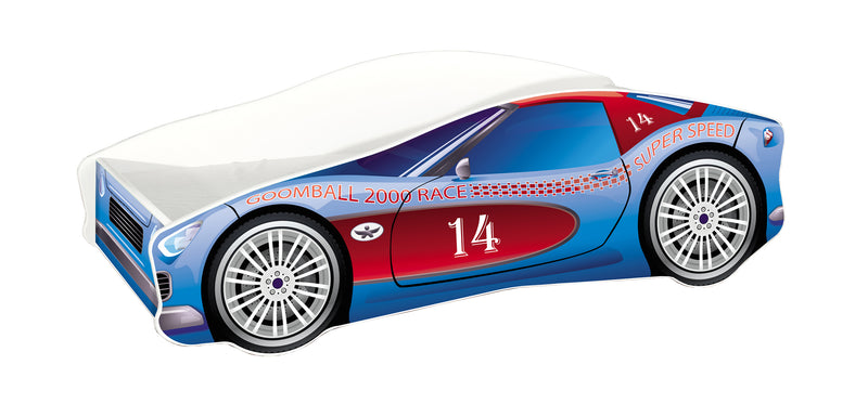ACMA V car bed (race blue+red)
