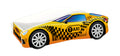 ACMA V car bed (taxi yellow+black)
