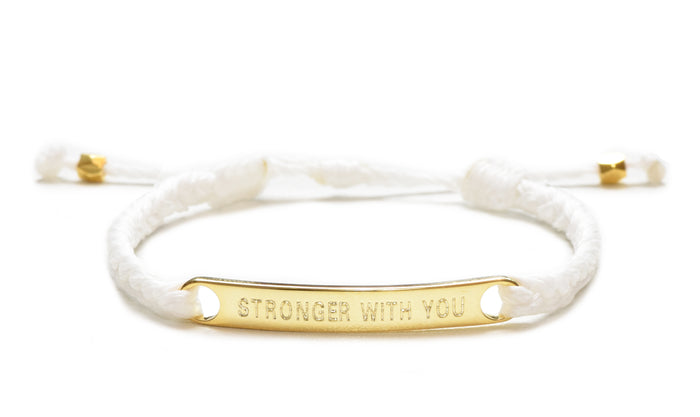 Stronger With You - White