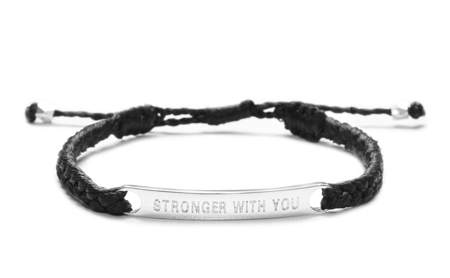 Stronger With You Couples Set of 2 bracelets