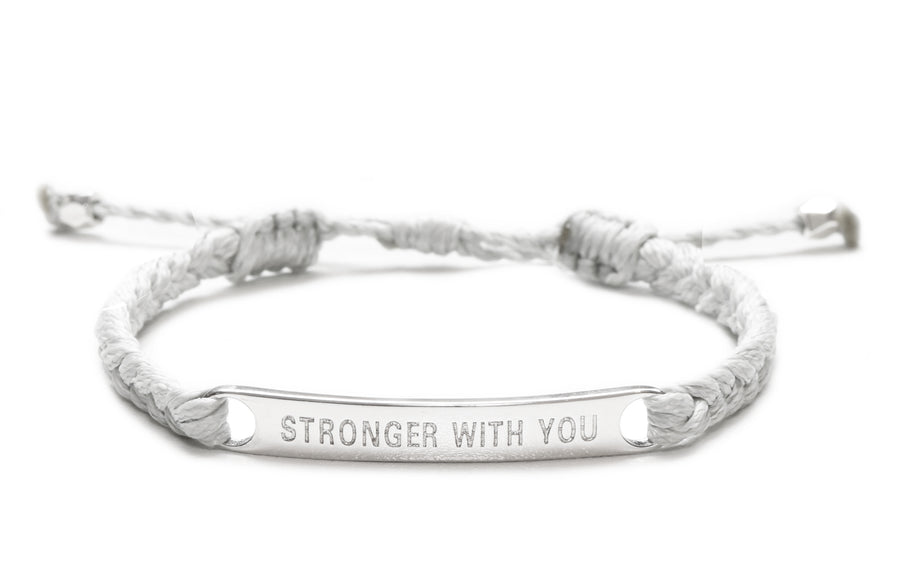 d1ac42e7aad96 Stronger With You Couples Set of 2 bracelets