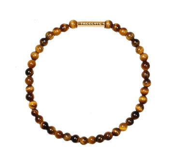 Men's - Mindful Moments - Brown Tiger Eye