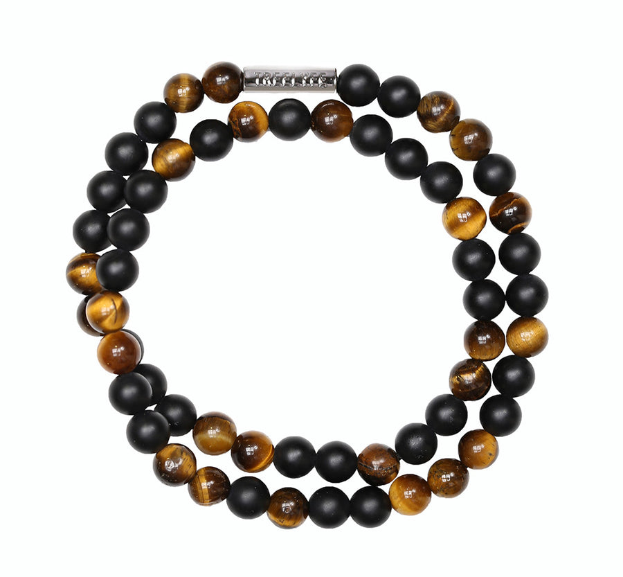 Winner's Will - Brown Tiger Eye and Black