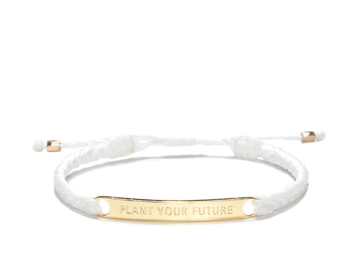 Plant Your Future - White