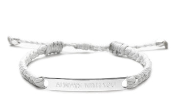 Always With You Couples/ Friendship bracelet