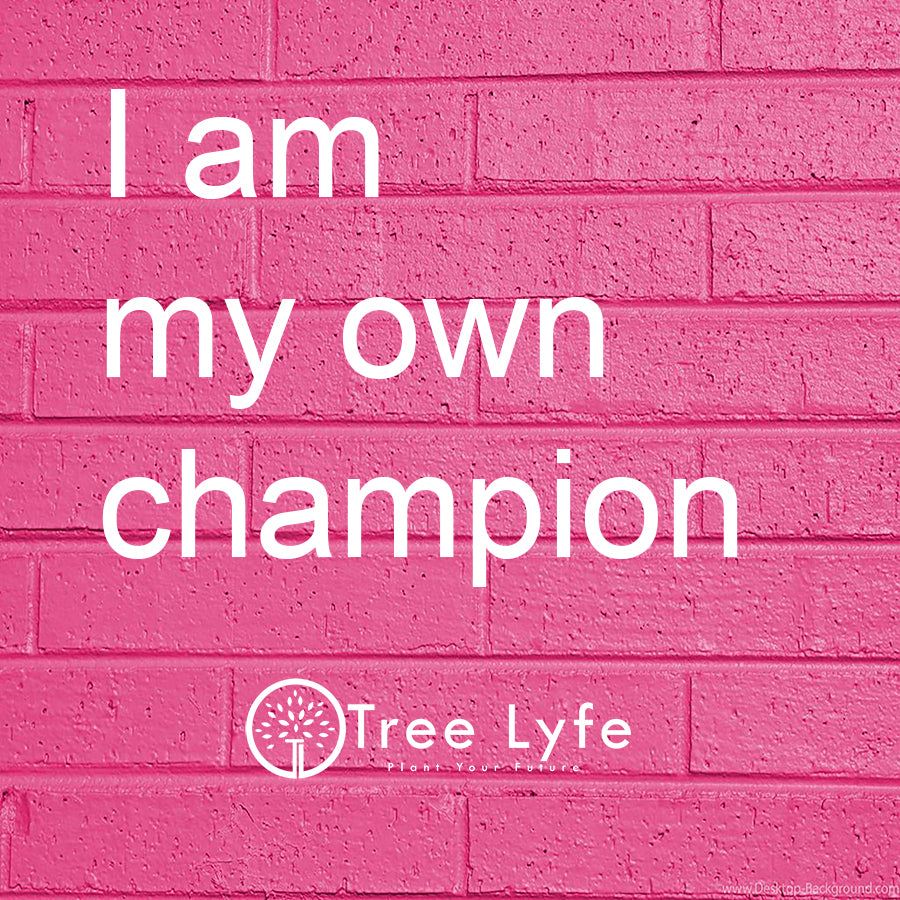 I am my own champion
