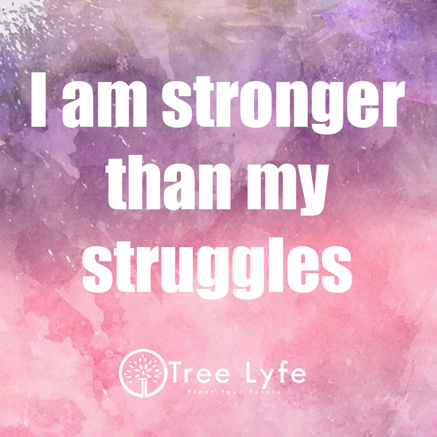 I am stronger than my struggles