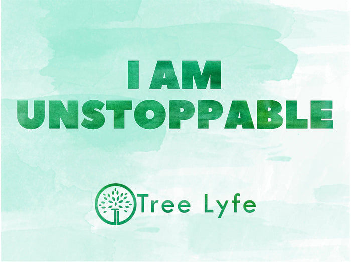 I Am Unstoppable Sticker