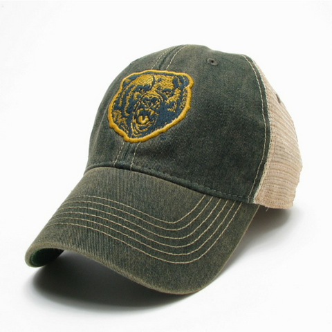 The Baylor Growling Bear Vintage Trucker Hat