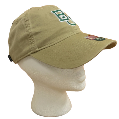 The Baylor Gold Interlocking BU Hat - Bailes Brothers Clothiers  - 5