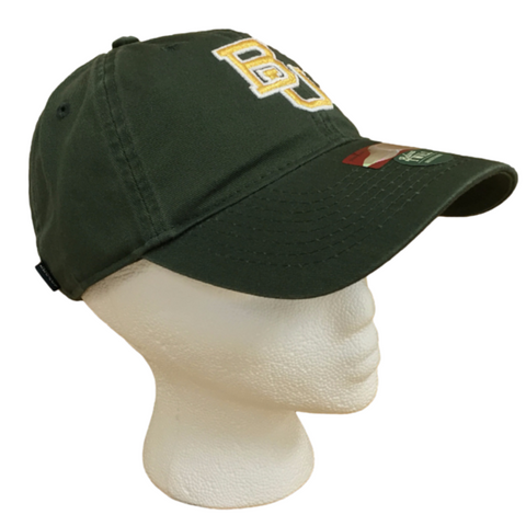 The Baylor Green Interlocking BU Hat - Bailes Brothers Clothiers  - 5