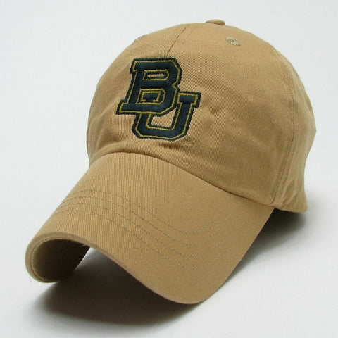 The Baylor Interlocking BU Slouch Hat - Old Gold - Bailes Brothers Clothiers  - 2