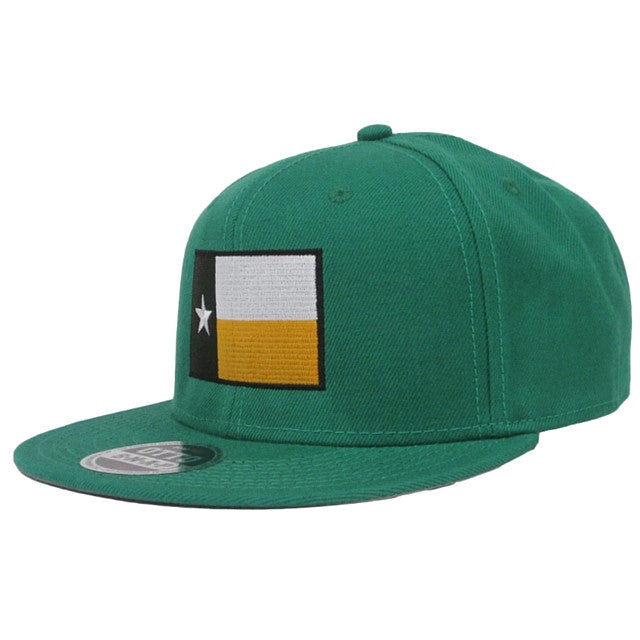 The Waco Texas Flag Snapback Hat - Kelly Green - Bailes Brothers Clothiers  - 1