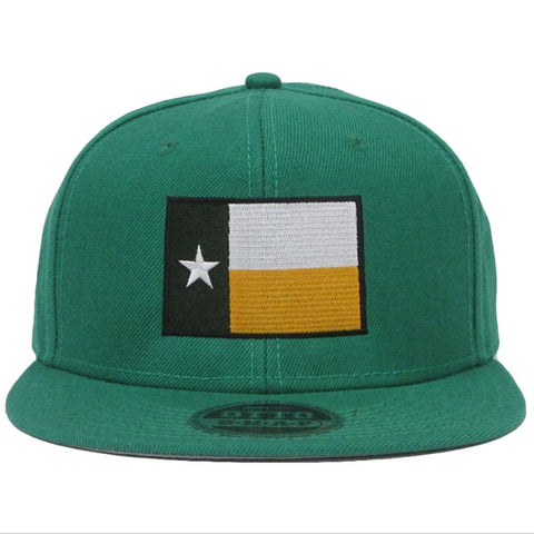 The Waco Texas Flag Snapback Hat - Kelly Green - Bailes Brothers Clothiers  - 2