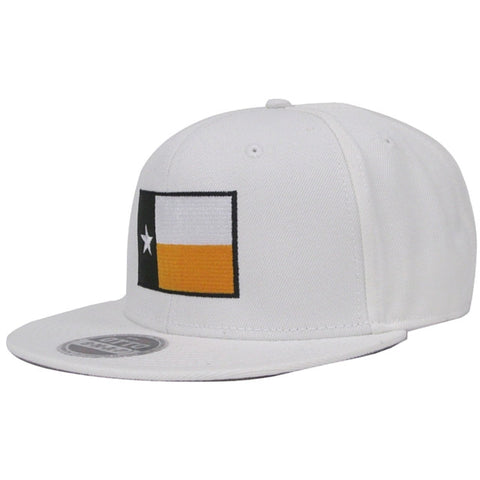 The Waco Texas Flag Snapback Hat - White - Bailes Brothers Clothiers  - 1