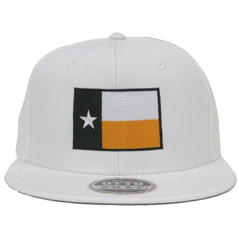The Waco Texas Flag Snapback Hat - White - Bailes Brothers Clothiers  - 2