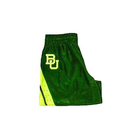 The Baylor Basketball Interlocking BU Hat - Green - Bailes Brothers Clothiers  - 3