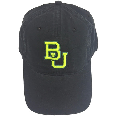 The Baylor Basketball Interlocking BU Hat - Black - Bailes Brothers Clothiers  - 5