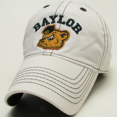 The Baylor Sailor Bear Contrast Hat - White - Bailes Brothers Clothiers  - 3