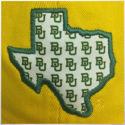 The Baylor University State Pride Trucker Hat - Gold - Bailes Brothers Clothiers  - 4