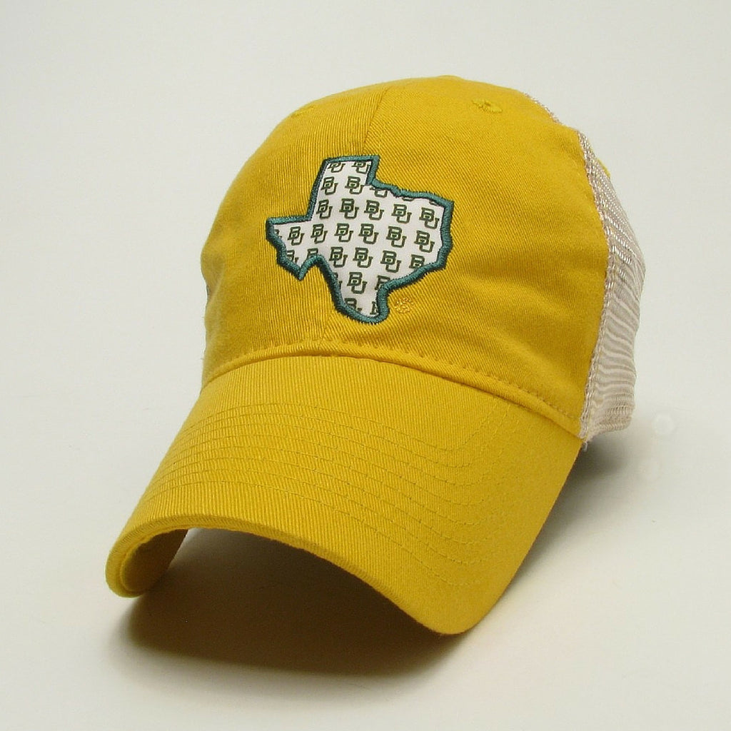 The Baylor University State Pride Trucker Hat - Gold - Bailes Brothers Clothiers  - 1