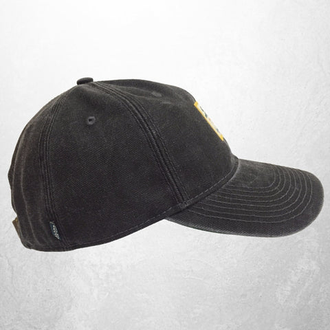 The Baylor University Vintage Serge Hat - Black - Bailes Brothers Clothiers  - 4