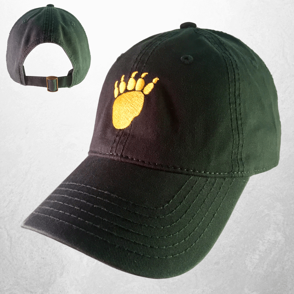 The Waco Bear Claw Hat - Green - Bailes Brothers Clothiers  - 1