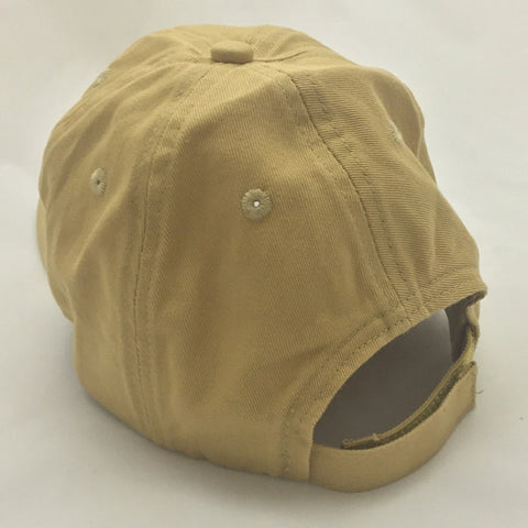 The Baylor Interlocking BU Slouch Hat - Old Gold - Bailes Brothers Clothiers  - 3