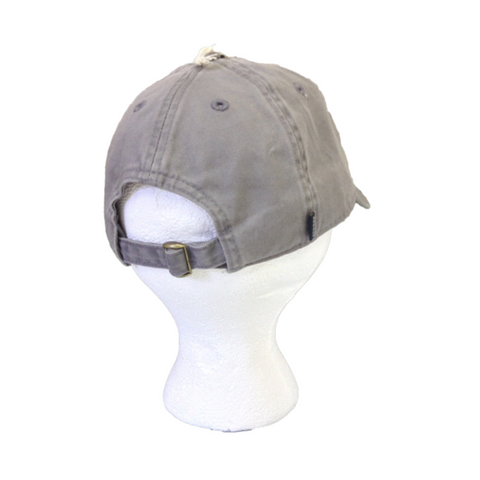 The Baylor Gunmetal Grey Interlocking BU Hat - Bailes Brothers Clothiers  - 6