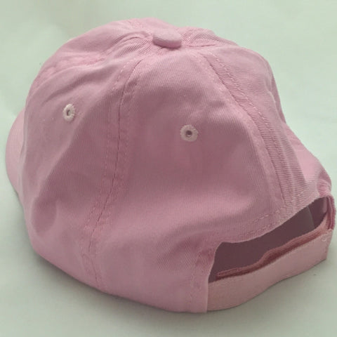 The Baylor Interlocking BU Slouch Hat - Pink - Bailes Brothers Clothiers  - 2