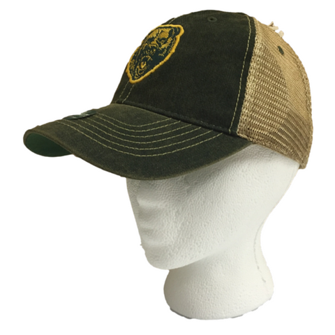 The Baylor Growling Bear Vintage Trucker Hat - Bailes Brothers Clothiers  - 2