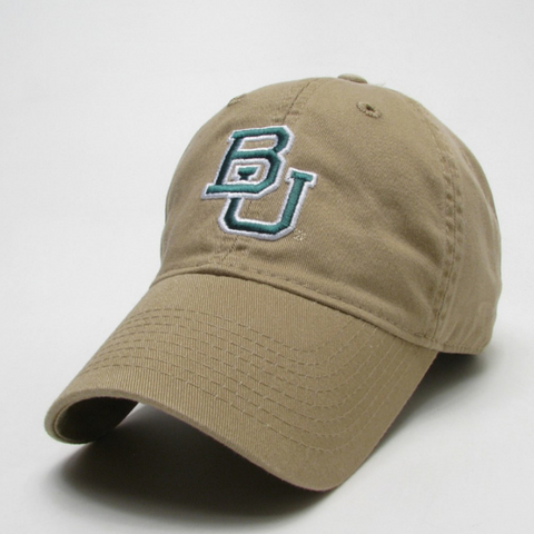 The Baylor Gold Interlocking BU Hat - Bailes Brothers Clothiers  - 1