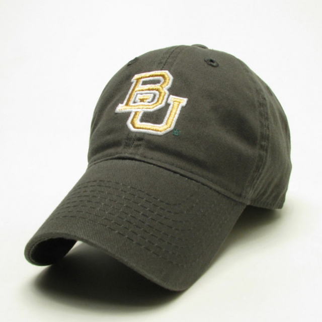 The Baylor Green Interlocking BU Hat - Bailes Brothers Clothiers  - 1