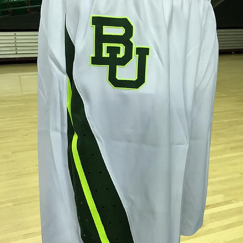 The Baylor Basketball Interlocking BU Hat - White - Bailes Brothers Clothiers  - 3