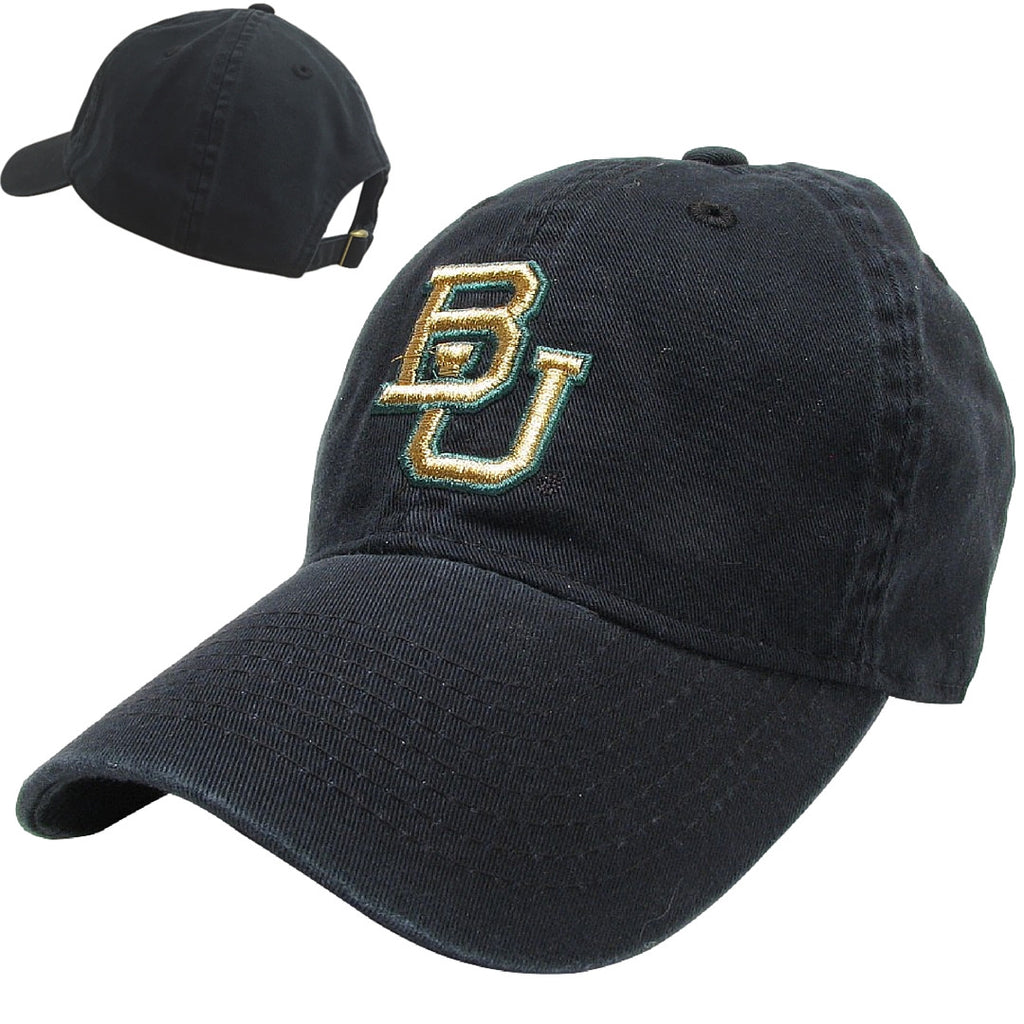 The Baylor Black Interlocking BU Hat - Bailes Brothers Clothiers  - 6