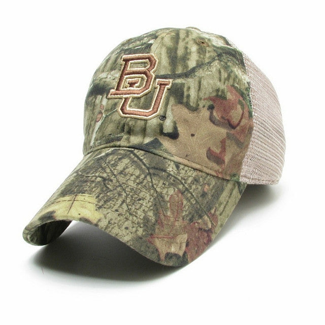 The Baylor Break-Up Camo Trucker Hat - Bailes Brothers Clothiers  - 1