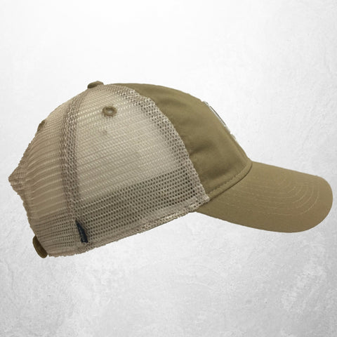 The Baylor Gold Interlocking BU Trucker Hat - Bailes Brothers Clothiers  - 4