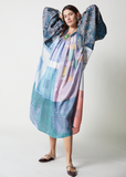 One-of-a-kind Super Wide Raglan Dress Batique