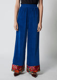One-of-a-kind Wide Leg Pants Velvet