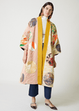 One-of-a-Kind Obi Coat Reversible Exclusive